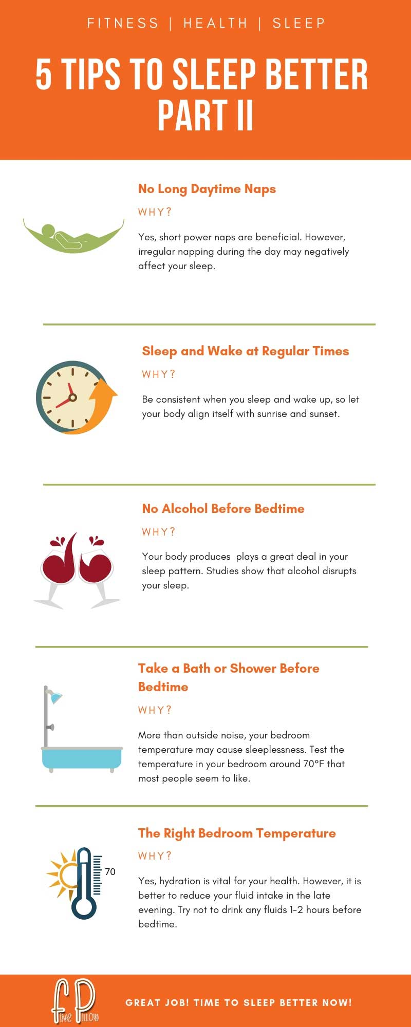 5 Tips to Sleep Better