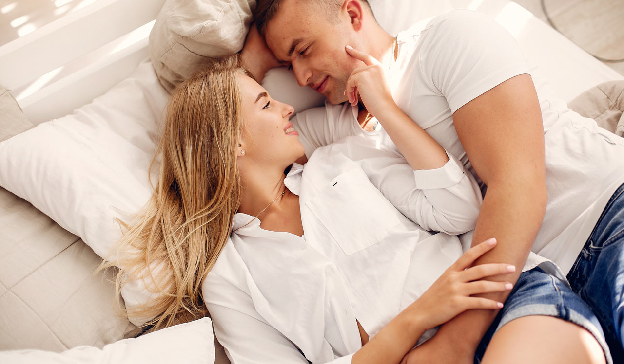 Why cuddling with your partner in bed is good for your health